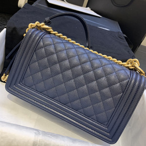 Hot solds women small Cha le boy classic quilted flap chain bag shoulder crossbody genuine real leather high quality purse handbag bags 2021