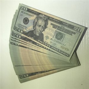 100 Paper Copy Props Wholesale U.S. Currency Pieces package Money Shipping Quality 20-5 Fast High Psdio Oovgo