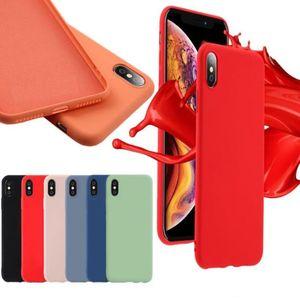 360 Full Cover Imitated Liquid Silicone TPU Case For Samsung M10 M20 M30 A10 A20 A30 A40 A50 A60 A70 A80 A90 OnePlus 6 6T 7 Pro
