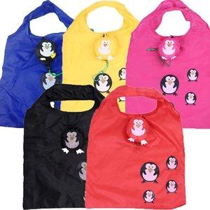 Симпатичные животные собаки Panda Форма Складная хозяйственная сумка бакалеи хранения дамы складной многоразовый Tote сумки Портативный Путешествия Shopper Bag wmtMtW