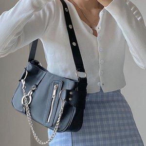 Designer-Retro Shoulder Bag For Women 2020 Luxury Nylon Waterproof Handbags Fashion Chain Evening Clutch Bags Purses Ladies Mini Hand Bag