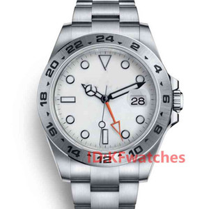 패션 망 고무 스트랩 남성 숙녀 태그 GMT 자동 기계적 이동 자체 와인딩 디자이너 손목 시계 스테인레스 스틸 시계 시계