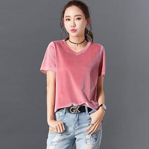 2020 New Summer Tshirt Women Cotton High Quality T-shirt O-neck Tshirt Casual Top Tees Ladies
