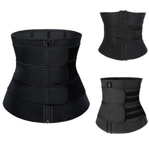 9 Steel Boned Neoprene Waist Trainer Tummy Slimming Sheath Reducing Shapewear Belly Control Shapers Modeling Belt Woman Body Shaper Corset