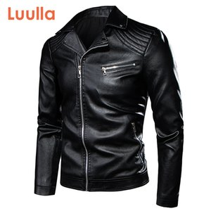 7XL Men Spring Motor Vintage Rock & Roll Casual Leather Jacket Coat Men Autumn Design Biker Rivet Pockets PU Leather Jackets Men 201022