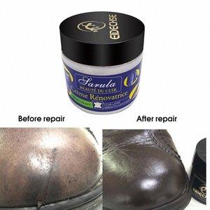 Asiento de coche del cuero Restauración Vinyl Repair Kit agujeros de cuero del asiento de coche automático Sofá rasguño Grietas rasga reparación líquido Crema D3nH #