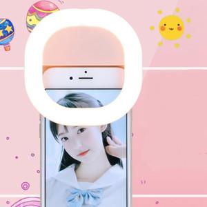 200PCS selfie Fill Light, téléphone portable Beauté selfie Lumière d'appoint, Convient pour Android / iPhone, rechargeable selfie Lumière d'appoint
