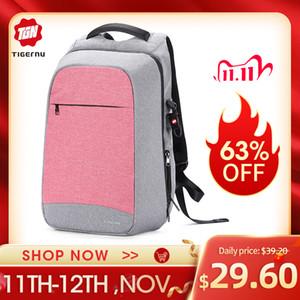 Tigernu Anti Theft Fashion Women Backpacks Female Daily College School Bag For Teenager Girls 15.6 Inch Laptop Backpack Mochila Q1113