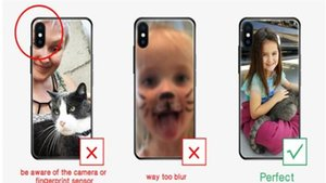 Funda para teléfono de TPU SILE SILE TPU para iPhone SE 6 6 más 7 8 PLUS Funda telefónica personalizada para iPhone X X Qylkqo Infant2005