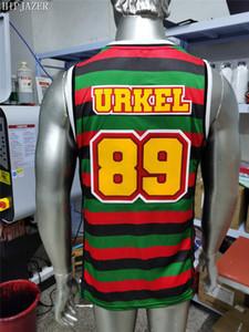 2021 new arrived Movie basketball jerseys 89# URKEL jerseys Family M Embroidery sports Training shirts Drop shipping