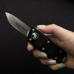New Mini Micro Combat Tech Knivere tattico Coltelli tattici D2 Blade T6-6061 Alloy in lega di alluminio Outdoor Aolo V EDC Strumento