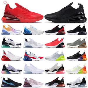 2021 New Подушка 270 кроссовки мужские кроссовки CNY Радуга каблука Тренер Road Star Платина Джейд Бред Женщины 27C Спорт 270S Размер 36-45