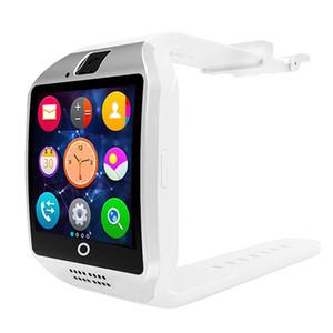 Q18 Akıllı İzle Saatler Smartwatch Saati Kamera Ile TF SIM Kart Yuvası Pedometre Apple Android Telefonlar için Aktivite Izci Spor