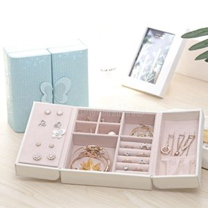 Necklace Ring Jewelry Box Butterfly Storage Boxes Display Storage Case Box Organizer Jewelry Holder Gift Boxes
