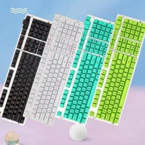108 stücke Universal Key Caps Helle Farbe Backlit Keycaps Für Mechanische Tastatur Ersatz Schlüsselkappe Keycaps Keyboards Zubehör
