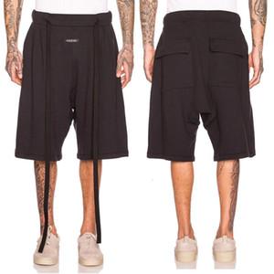 High street fog essentials shorts ribbon casual long loose ins fashion men's CaprisVL8W51F3VZD6