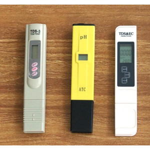 New Lcd Display Ec Tds Meter With Backlight +ph Tester Atc + Tds Monitor Ppm Stick Water Purity wmtdWd sports2010