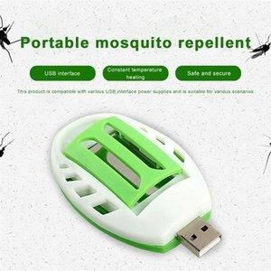 Zanzara elettrico Estate Insect USB verde + bianco elettrico Repeller della zanzara repellente plastica Pest Control Sleep Home AJJi #