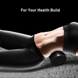 EPP Yoga Black Block Nova Massagem de Fitness Foam Roller Para Back Massage Pilates Musculação Ginásio Equipamento Com pontos desencadeantes