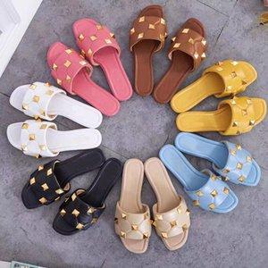 40% de descuento nuevo llega a la moda ACE Designer Slippers Marca para mujeres en Nave de gota de verano Best Factory Online Venta ORIGINAL