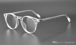 Ov5256 Vintage rotonda degli occhiali donne Oliver Sir O 'Malley prescrizione Uomini Optical Glass Eye Glasses Eyewear Occhiali Telaio