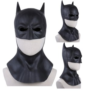 The Batman Supereroe Mask Cosplay Bruce Wayne Latex Masks Halloween Carnival Masquerade Party Costume Props