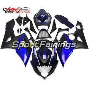 Complete Fairings For Suzuki GSX-R 1000 K5 05 06 GSXR1000 2005 2006 Full Fairings Injection Body Covers Blue Black Hot Sale