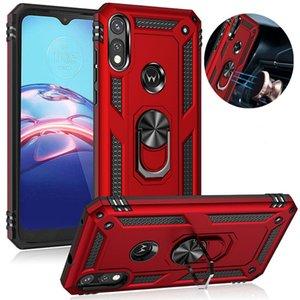 Militärische Rüstung Beinständer Telefon-Kasten für Motolara Moto G9 Play-Plus-E7 Plus-E6S TPU + PC rückseitige Abdeckung für Moto G8 Strom Lite G 5G Plus One Fusion
