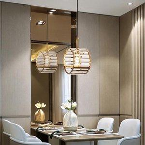 FSS New Creative Modern Crystal Chandeliers LED Lighting Gold Rame Lamp 110V 220V Luster Dinning Room Bar