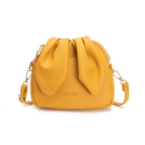 Women Mini Bucket Bag Fashion Luxury Handbags Brand Designer Rabbit Ears Small Bag Female Large Capacity Shoulder Crossbody Bags C0225