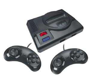 Tragbare HD Videospielkonsole MD 16 Bit speichern kann 86 Spiele 8 Bit 605 Spiele mit 2 Gamepads Retro MINI Video TV Game-Spieler Box SG816