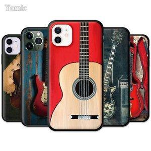 Guitar Amp Marshall Black Cover for Apple iPhone 7 12 Mini 11 Pro 8 XR X XS MAX 6 6S Plus Soft Tpu Mobile Phone Case 11Pro 12Pro