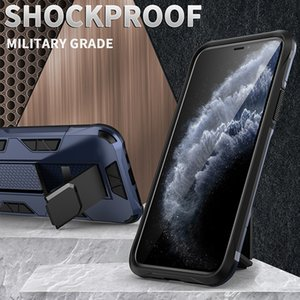 Suitable for Iphone6   6S 7Plus   8Plus   XR XS max 11Pro  11Pro Max military Anti- Drop magnetic stent phone case
