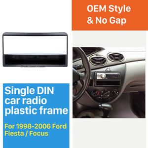 Car Refitting DVD Frame, DVD Panel, Dash Kit Car Fascia Radio Frame Audio Frame for 1998-2006 Ford Fiesta  Focus 1DIN