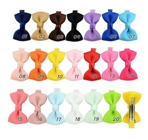 Fashionuc9lcolor Ribbon Mix 2 Kleine Grosgrain Inch Beliebte Bögen Haargrößen Kinder Bowknot Clips Kinder Haarschmuck Hairpin4pd1