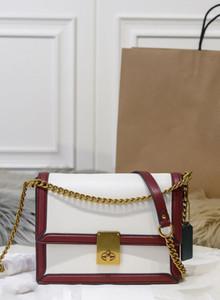Top Moda couro de alta qualidade bolsa senhoras cadeia bolsa bolsa de ombro tamanho 21 * 16 * 5cm