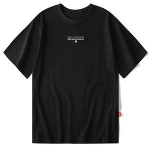 2021 nuevo algodón para África Eden Harajuku Famosa calle impresa Hip Hop Hombres sueltos Hombres Medias Manga Casual Camiseta ZCDX