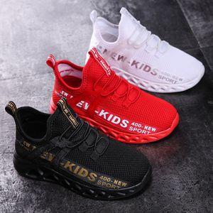 New Mesh Kids Sneakers Leggero Scarpe per bambini leggeri Casual Breasurable Boys Scarpe antiscivolo Girls Sneakers Zapatillas Size26-39 201112