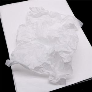 100 ورقة الكثير A4 ورقة التفاف شفافة ورقة الأنسجة المرجعية هدية الفاكهة التفاف أوراق الزهور هدية التعبئة والتغليف المواد jllmjf