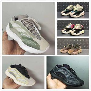 Kids Reflective 700 Wave Runner Kanye West 700s V3 V2 Toddler Boys Gilrs Runing Shoes Toddler Designer Trainers Children Sneakers