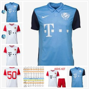 2020 FC Utrecht Home Soccer jerseys Man kids kit +sock 20 21 MAHER DALMAU KERK JANSSEN GUSTAFSON footbll shirt boys kit
