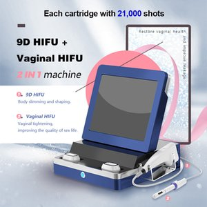 Portable Vaginal Skin Tightening HIFU High Intensity Foucused Ultrasound System 3.0mm 4.5mm Women Private Health Care Salon Beauty Machine