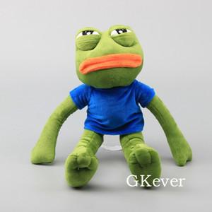 "Cartoon Pepe Sad Frog Plush Toy Soft Stuffed Animal Doll 17"" 42 CM Children Gift 201009"