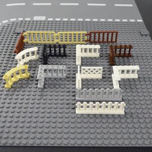 Valla Building Blocks Accesorios de puerta de Windows Ciudad Casa Escaleras Escalera Ladrillos Moc piezas del juguete para el cabrito compatible pingtoy Marcas sqcdAo