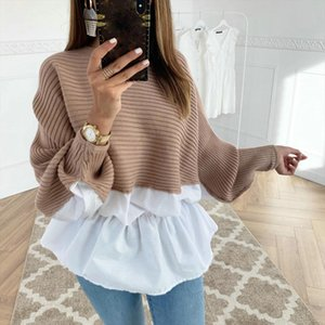 High Quality Fashion Casual Womens Clothing Female Solid Color O Neck Long Sleeved Knitted Sweater Women Soft Pullovers new