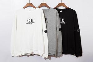 20SS CP Erkek Ceket Marka Kapüşonlular Casual Uzun Kollu Süveter Tasarımcı Firma En Kazak Erkek Lüks Hood O-boyun Kazak 2090801Q