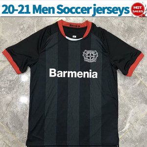 20 21 Bayer Leverkusen soccer jersey home black red ALARIO BAILEY 20 21 men soccer shirt customized Football uniforms