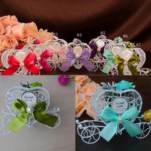 Kreative Trainerwagen Autoform Hochzeit Party Favors Süßigkeiten Schokolade Weihnachten Sweet Zucker Favor Box Dekorationen Geschenkboxen EEB4256