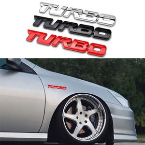 Placa de identificación Turbo Volkswagen 3D para Emblem Chevrolet Metal Audi Trasero Ford Pegatina Logo Coche Mazda Tronco Letras Espesar Accesorios FTWSR