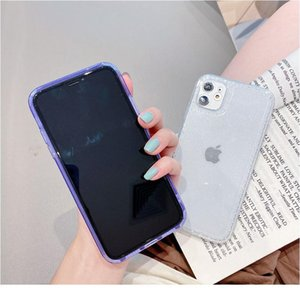 Luxury Transparent Glitter Phone Case For Iphone 11 Pro Max X Xr Xs 8 Plus 7 Se2 Bling Soft Sile Shockpro bbyfLf